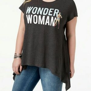 Tops - 2  size 2x and 1 size 1x Wonder Woman shirt